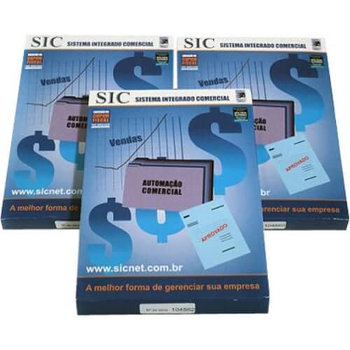 Programa Sicnet Sistema Integrado Comercial  - M3 Automação