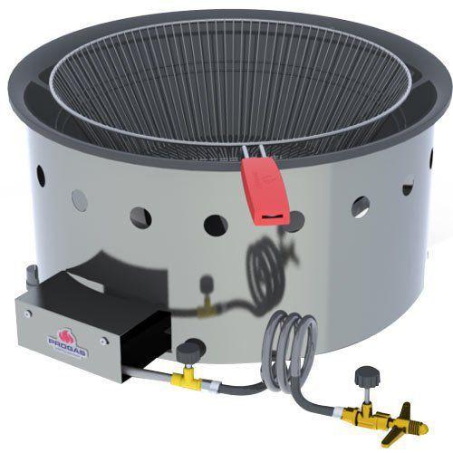 Tacho de Fritura a Gás Alta Pressão Inox 14L Progás PR-14G MESA G2  - M3 Automação
