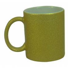 Caneca Com Glitter Para Sublimação Bronze