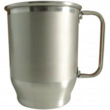 Caneca de Aluminio - 500ml Com Tarja