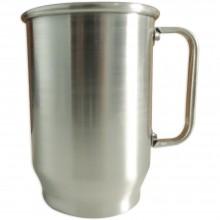 Caneca de Aluminio - 600ml Brilhante