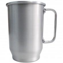Caneca de Alumínio 600ml Fosca