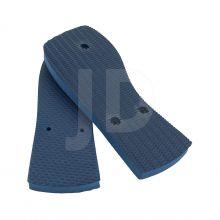 Chinelo Liso - Feminino - Adulto - Quadrado - Azul Marinho