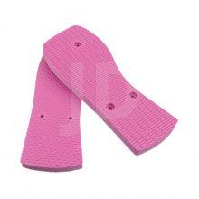 Chinelo Liso - Feminino - Adulto - Quadrado - Rosa Pink