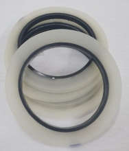 Fita Térmica Para Sublimação de Foto Produto 06mm x 66 metros 1un - Branca / Transparente