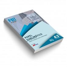 Papel Sublimático Blue Paper Havir 100 Folhas A3 Resinado 90 g/m2