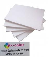 Papel Sublimático X-Color 100gsm - 100 FOLHAS