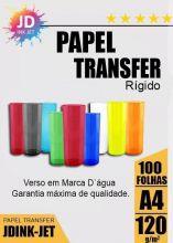 Papel Transfer Laser Rígido 120gr 100 folhas