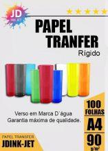 Papel Transfer Laser Rígido 90gr 100 folhas