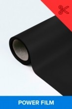 Power film brilhante preto  0,50m² (1/2 de m²)