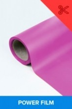 Power film brilhante rosa  0,50m² (1/2 de m²)