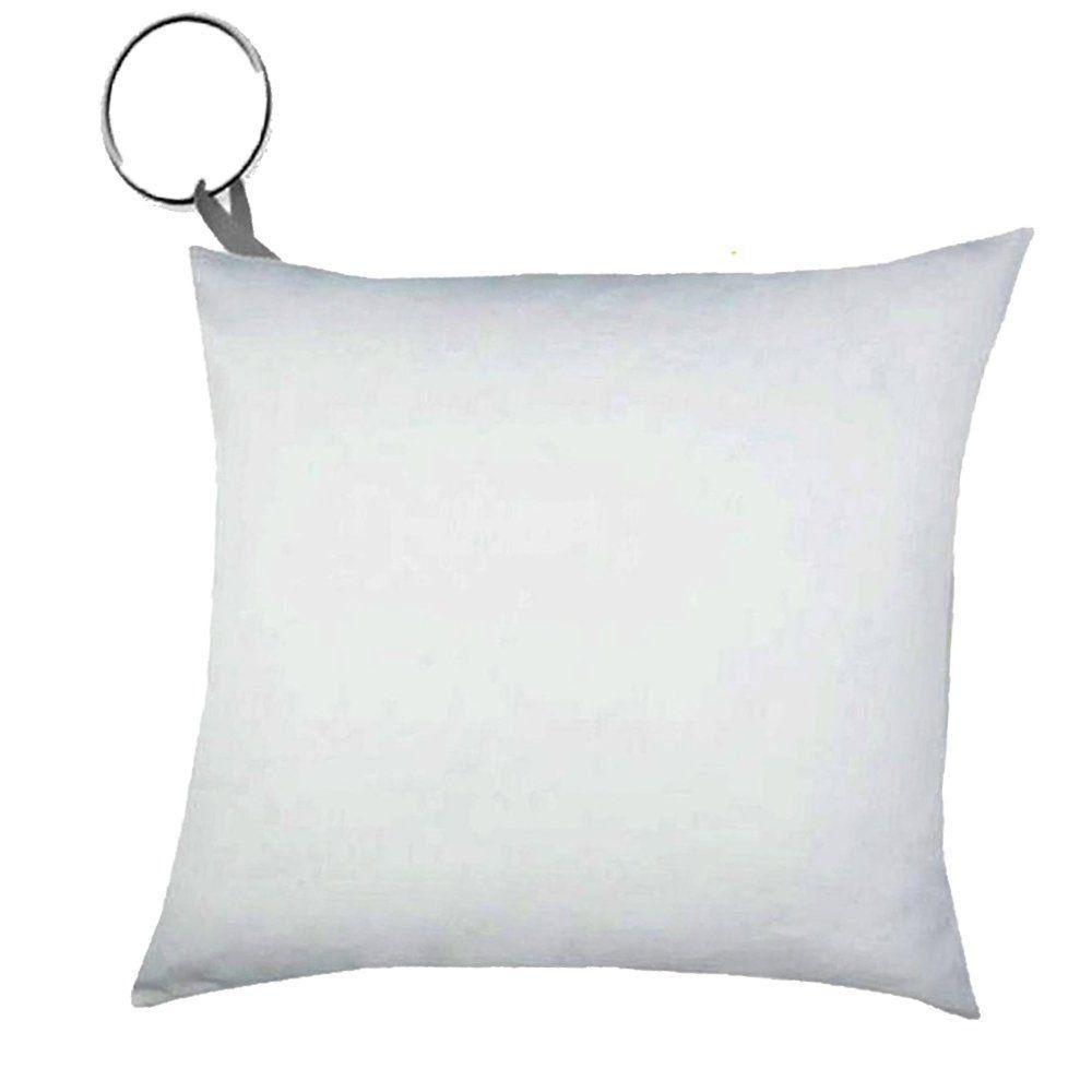 Almochaveiro Para Sublimação Branco com Argola Pacote com 100 Unidades