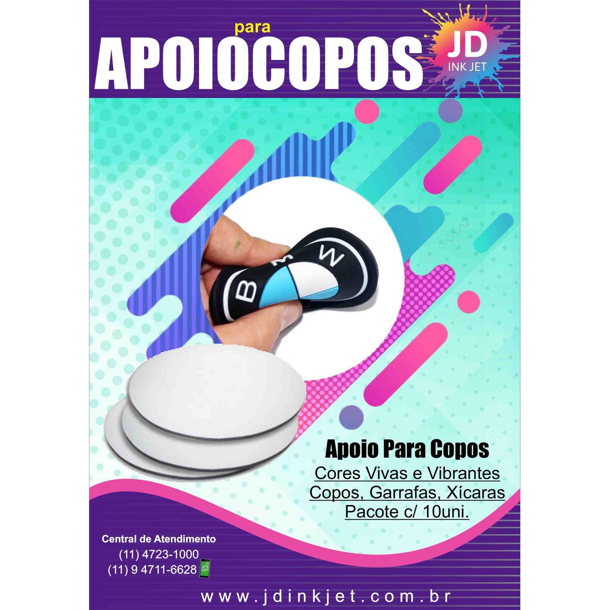 Porta Copos, Apoio para Copos, Garrafas, Xícaras Pct C/ 10un.