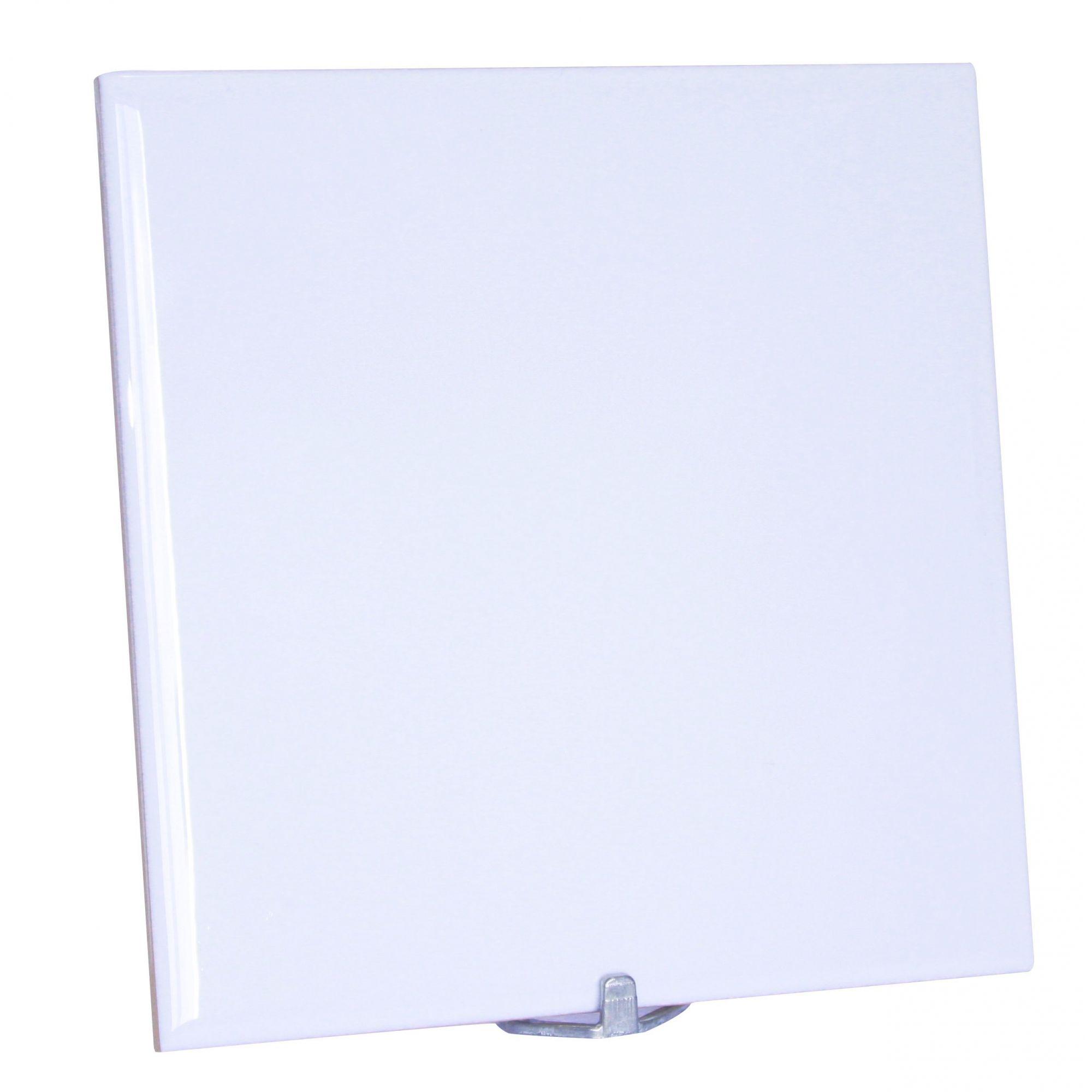 Azulejo 20x20cm Para Sublimação Com Suporte 10 unidades.