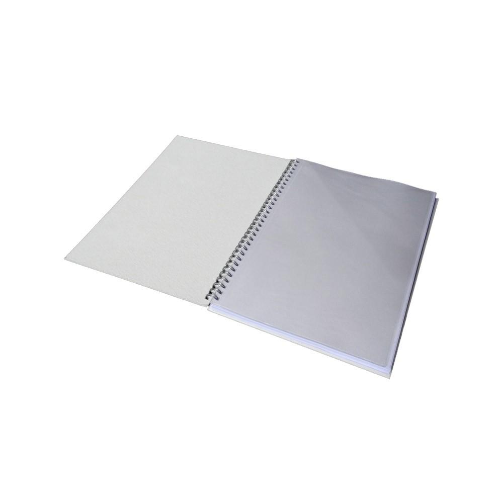 Caderno Grande - 204mm x 276mm - 100 folhas