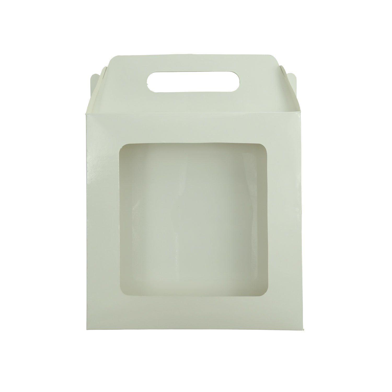 Caixa de Azulejo Sublimável - 15x15cm - Com Janela - Pct 12 Und