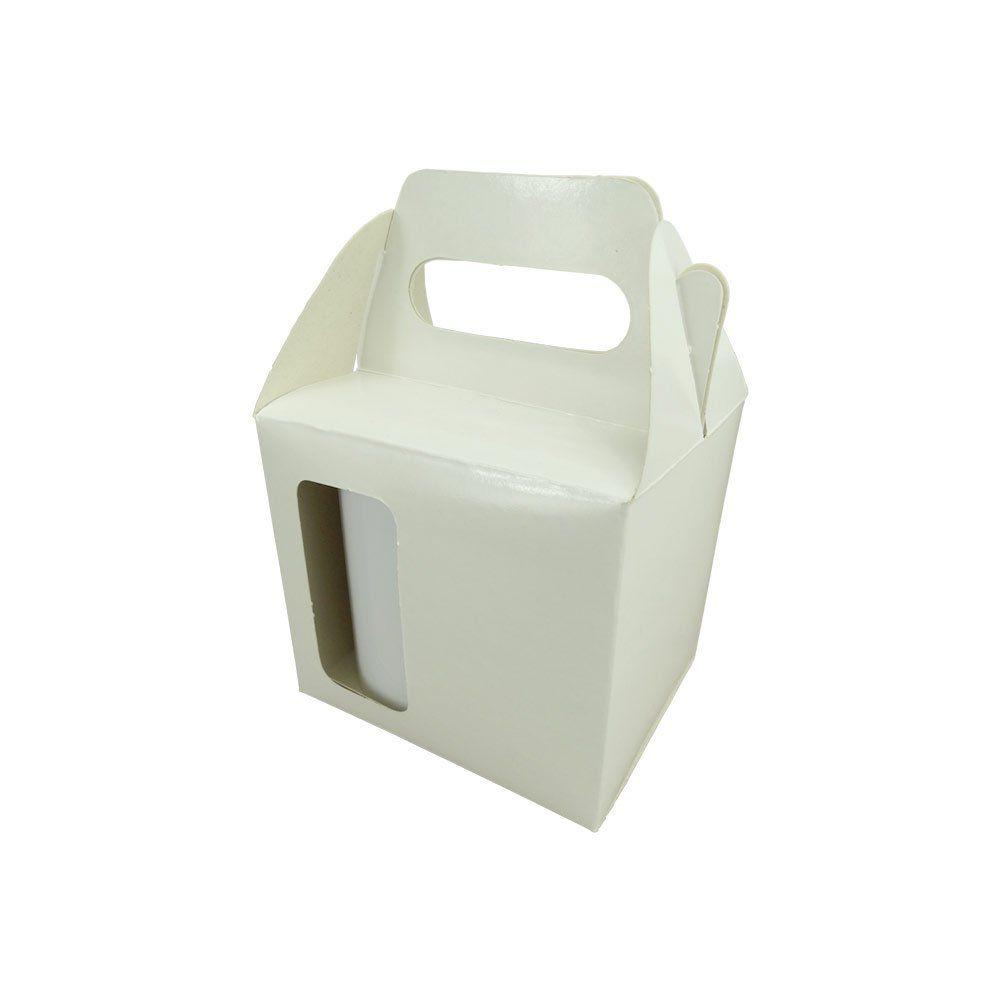 Caixa de Caneca Sublimável - Com Janela - Pct 12 Und