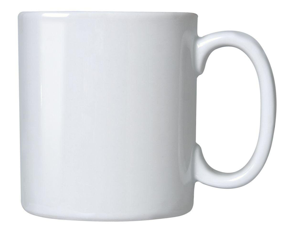 Caneca Branca Para Sublimação - Classe AAA - Mecoulor - 325ml