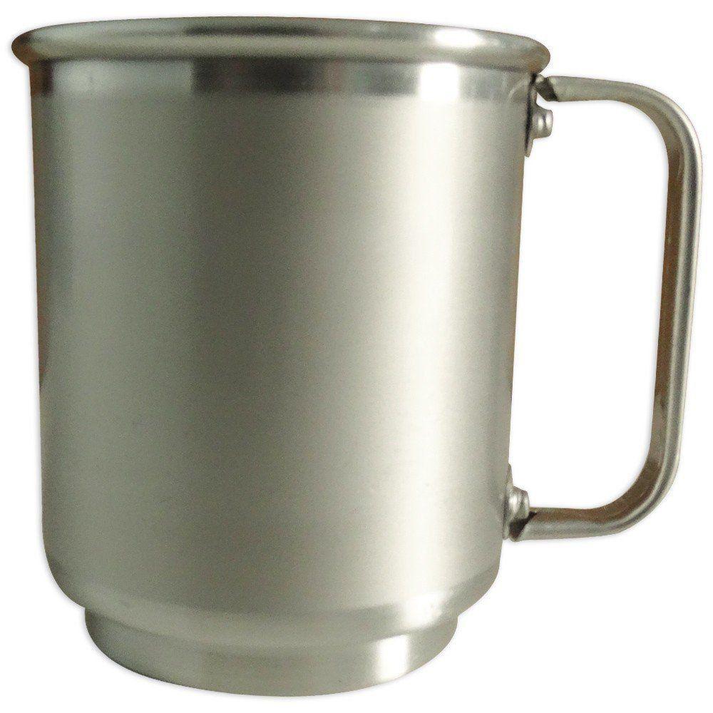 Caneca de Alumínio 400ml Com Tarja