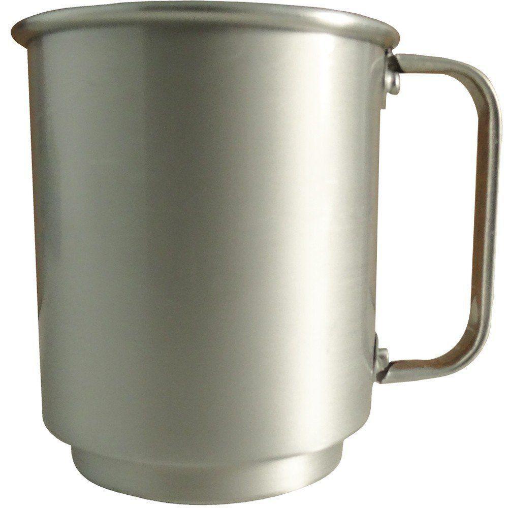 Caneca de Alumínio 400ml Fosca