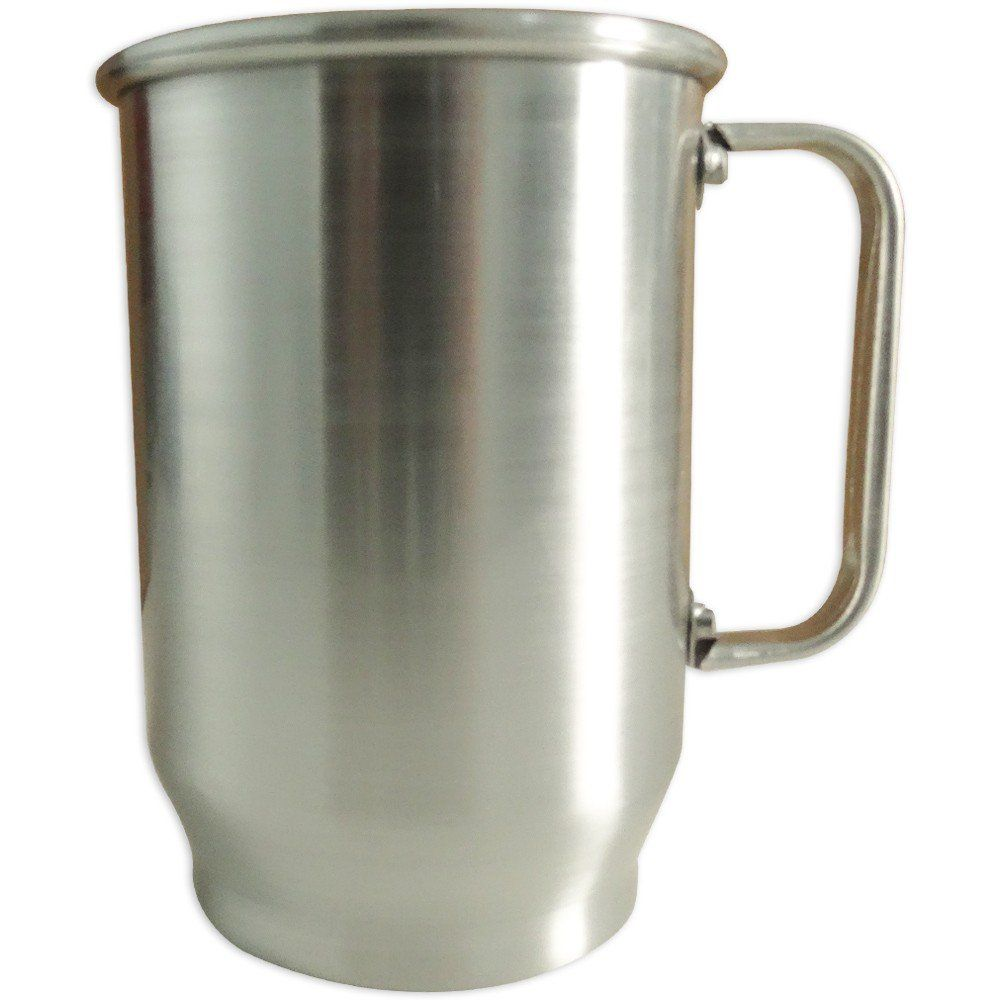 Caneca de Aluminio - 500ml Brilhante