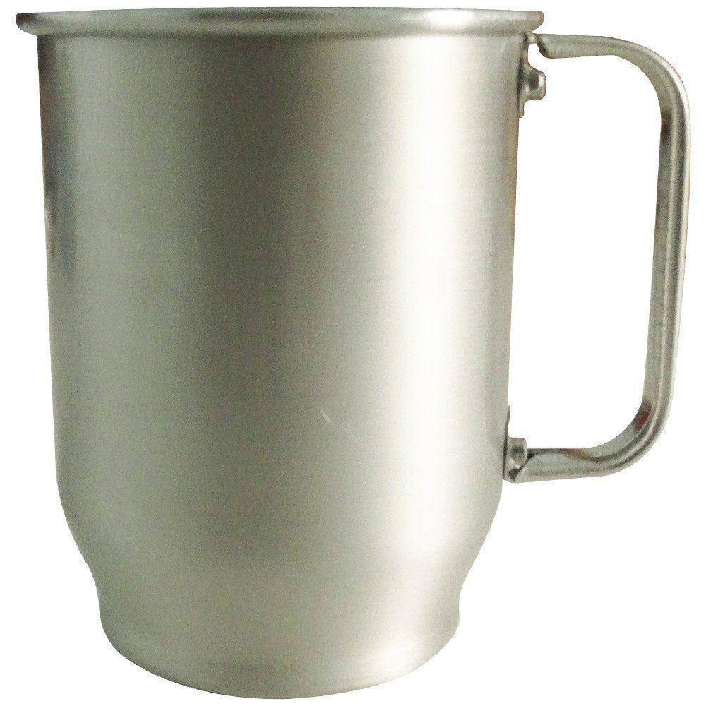 Caneca de Alumínio 500ml Fosca