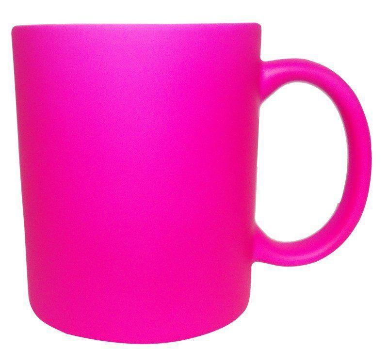 Caneca Neon Rosa Pink 12 unidades