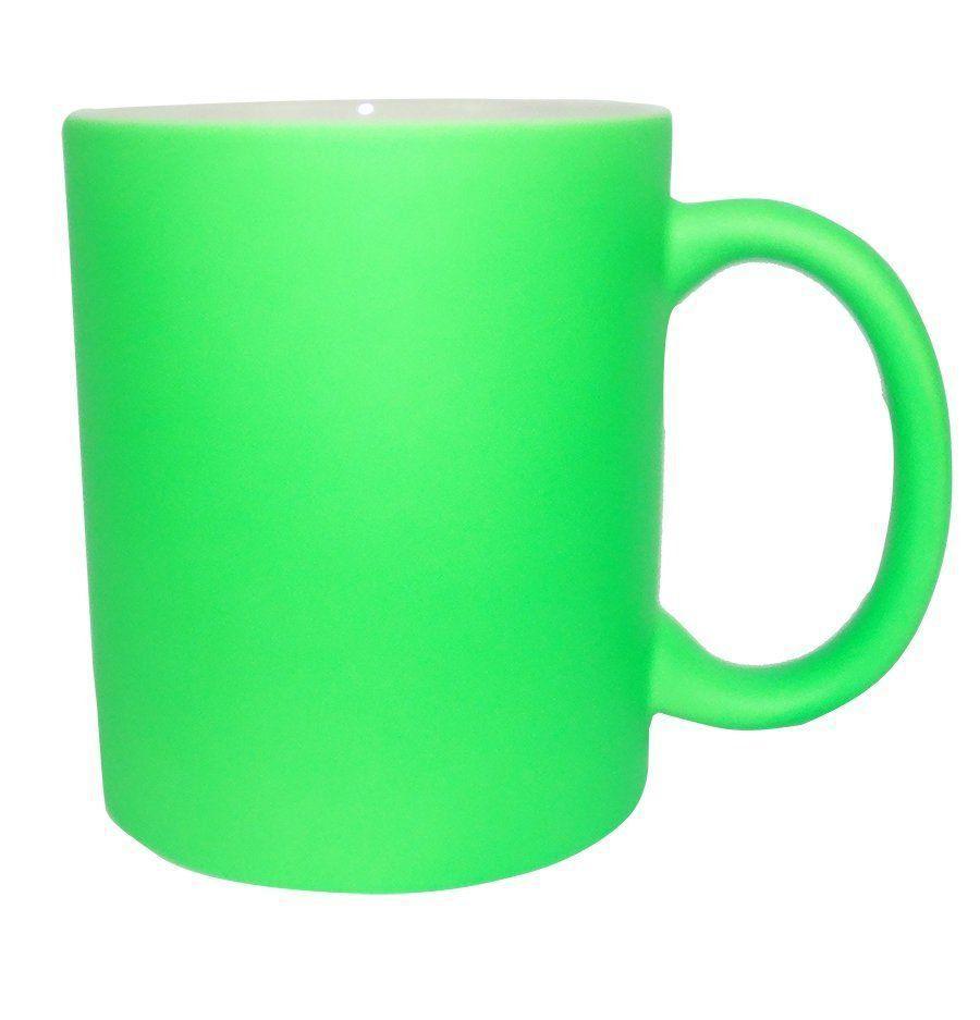 Caneca Neon Verde 12 unidades