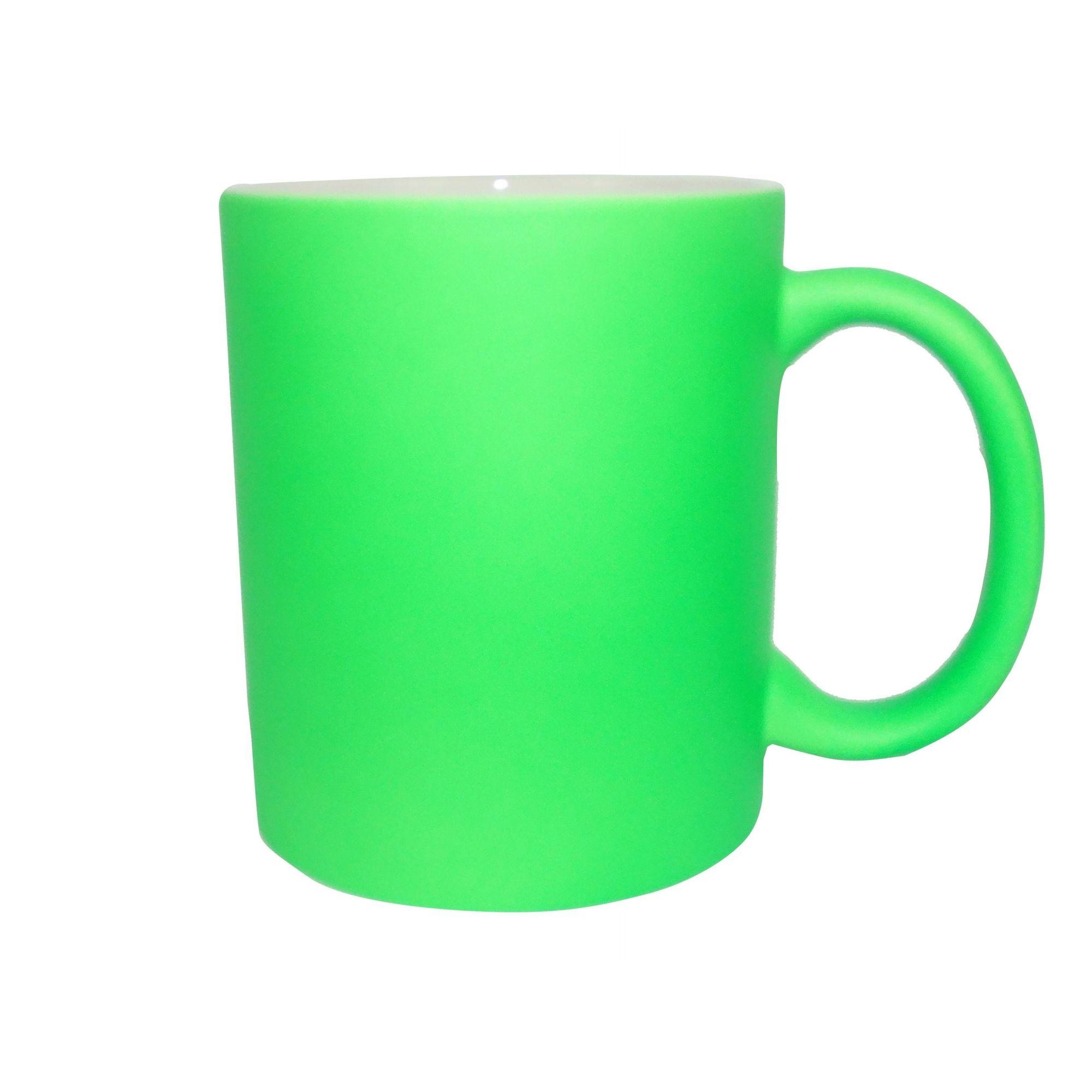 Caneca Fluorescente Verde