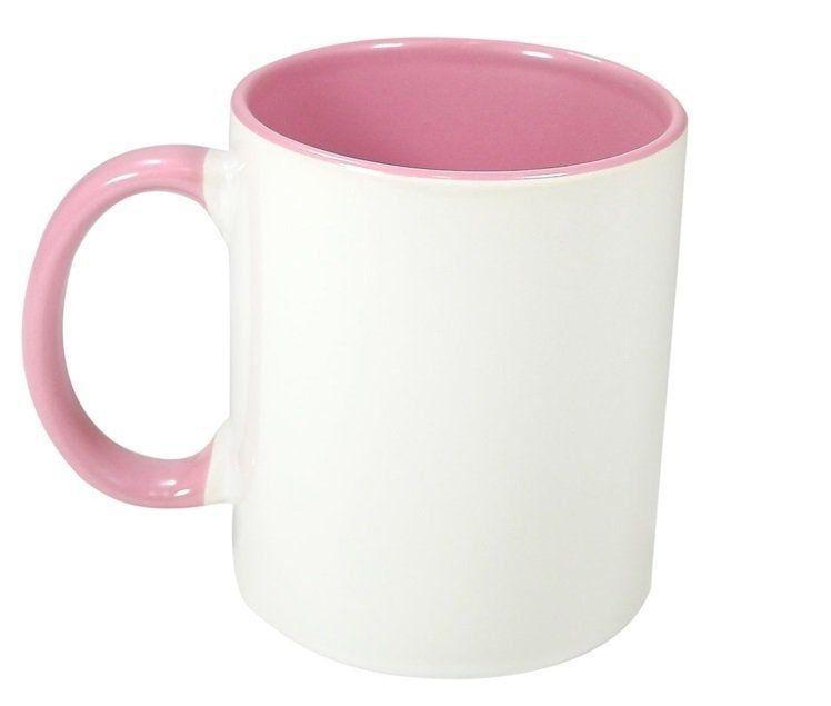 Caneca P Sublimação - Interna Rosa 325ml