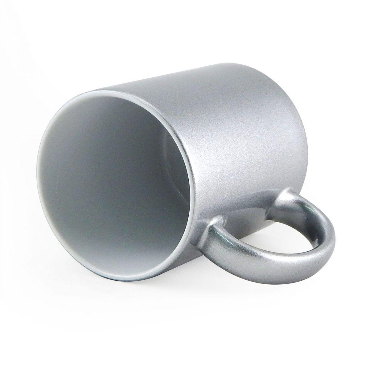 Caneca P Sublimação - Prata Classe AAA 325ml