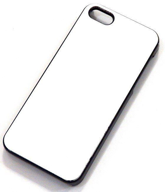 Capa celular c/ chapinha metal para sublimação Iphone 5