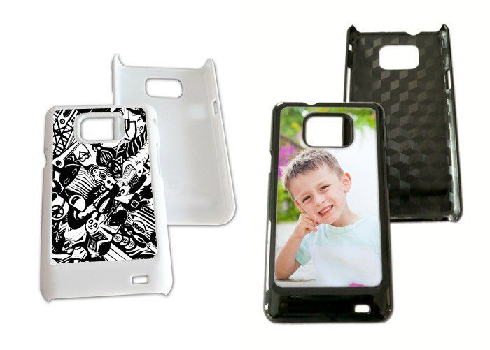 Capa celular c/ chapinha metal para sublimação Samsung s2