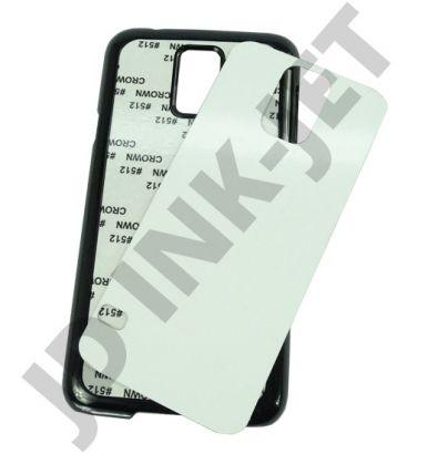 Capa celular c/ chapinha metal para sublimação Samsung s5