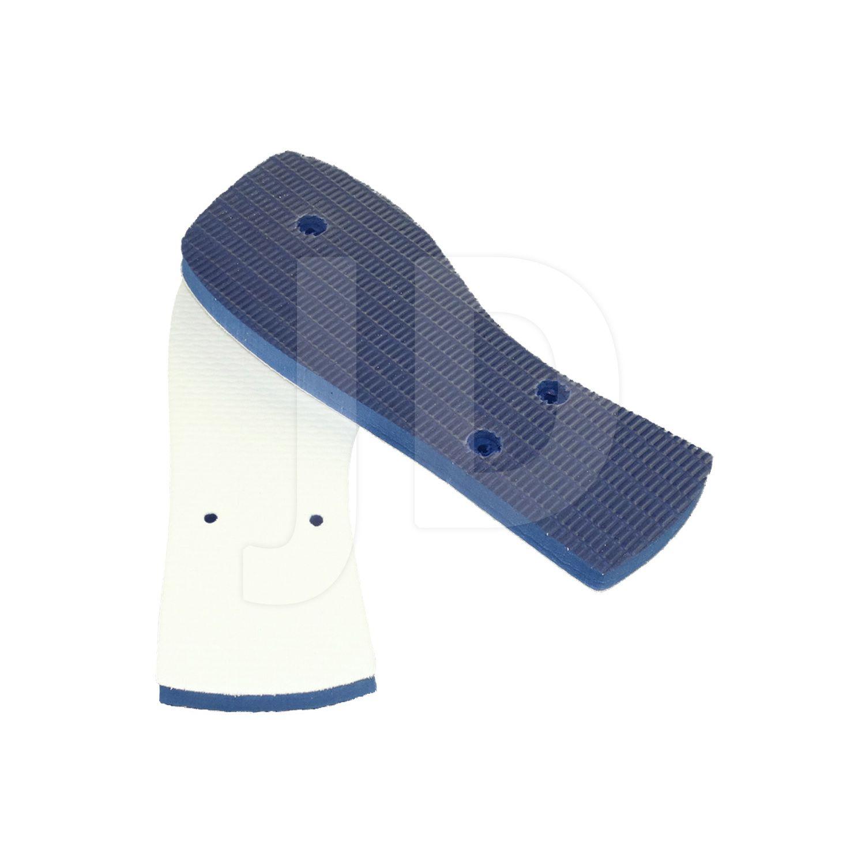 Chinelo Com Tecido P/ Sublimação - Feminino - Adulto - Quadrado - Azul Marinho