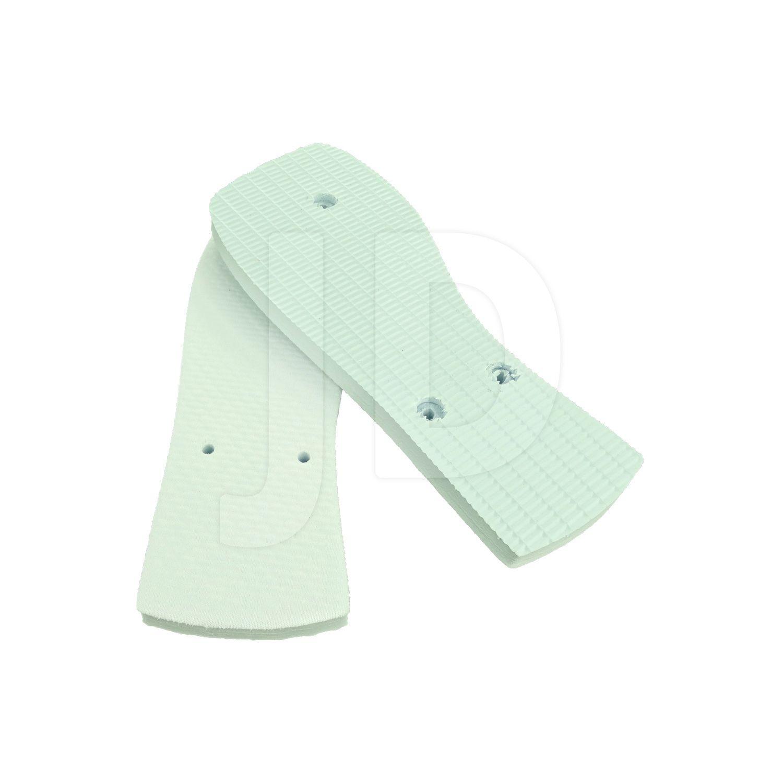 Chinelo Com Tecido P/ Sublimação - Masculino - Adulto - Quadrado - Branco