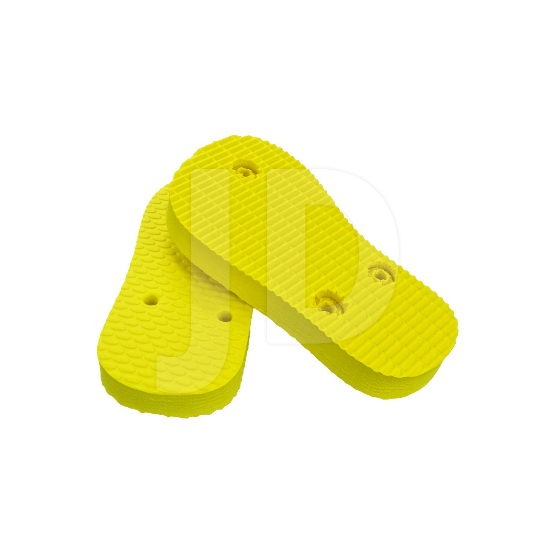 Chinelo Liso - Para Transfer e Silk - Baby - Amarelo