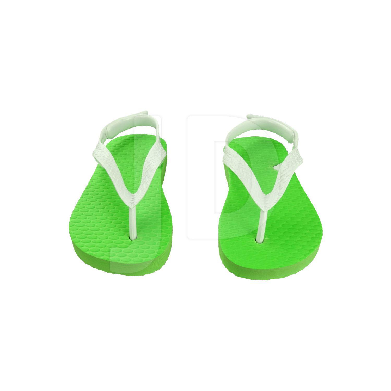 Chinelo Liso - Baby - Verde Limão