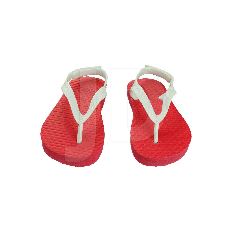 Chinelo Liso - Baby - Vermelho