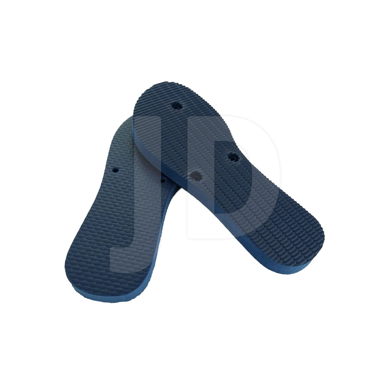 Chinelo Liso - Para Transfer e Silk - Feminino - Adulto - Flat - Azul Marinho