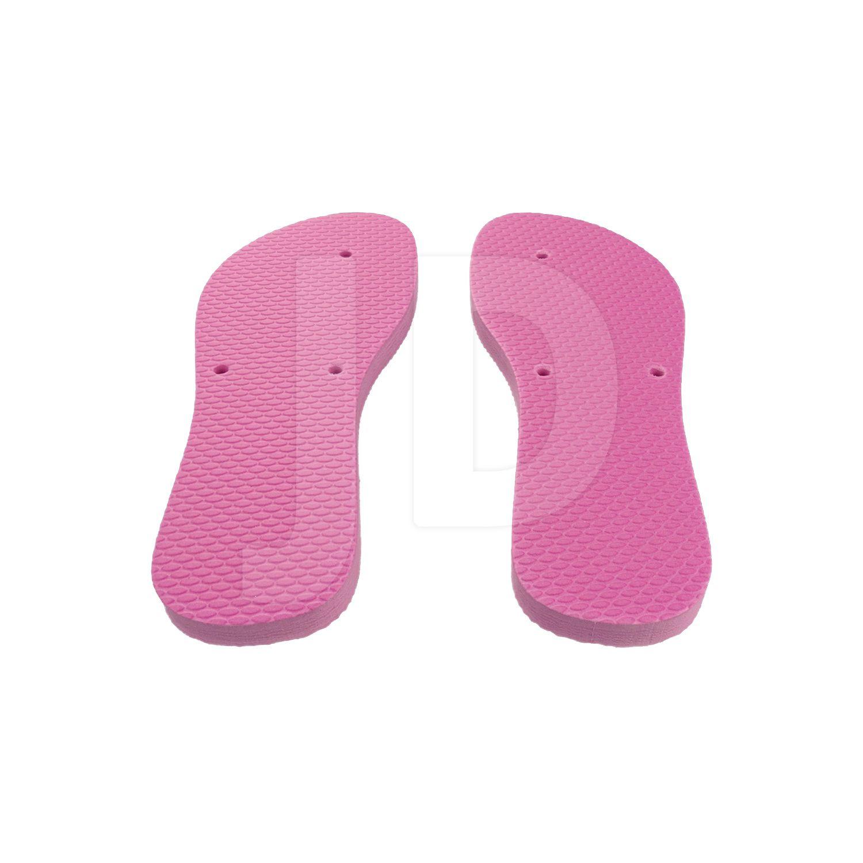 Chinelo Liso - Para Transfer e Silk - Feminino - Adulto - Flat - Rosa Pink