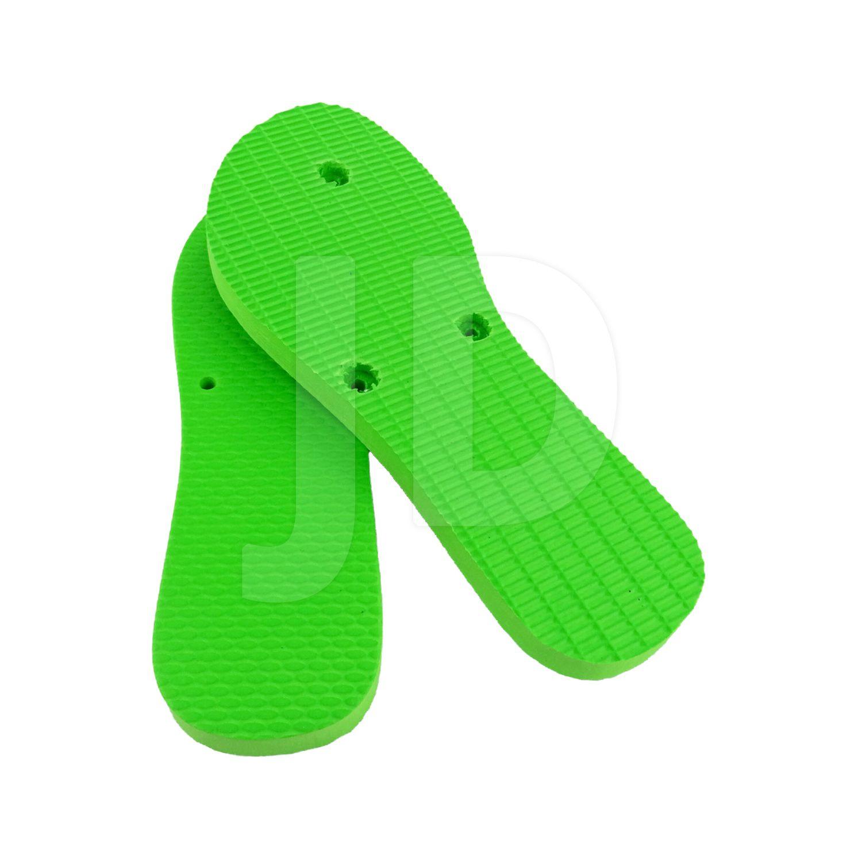 Chinelo Liso - Para Transfer e Silk - Feminino - Adulto - Flat - Verde Limão