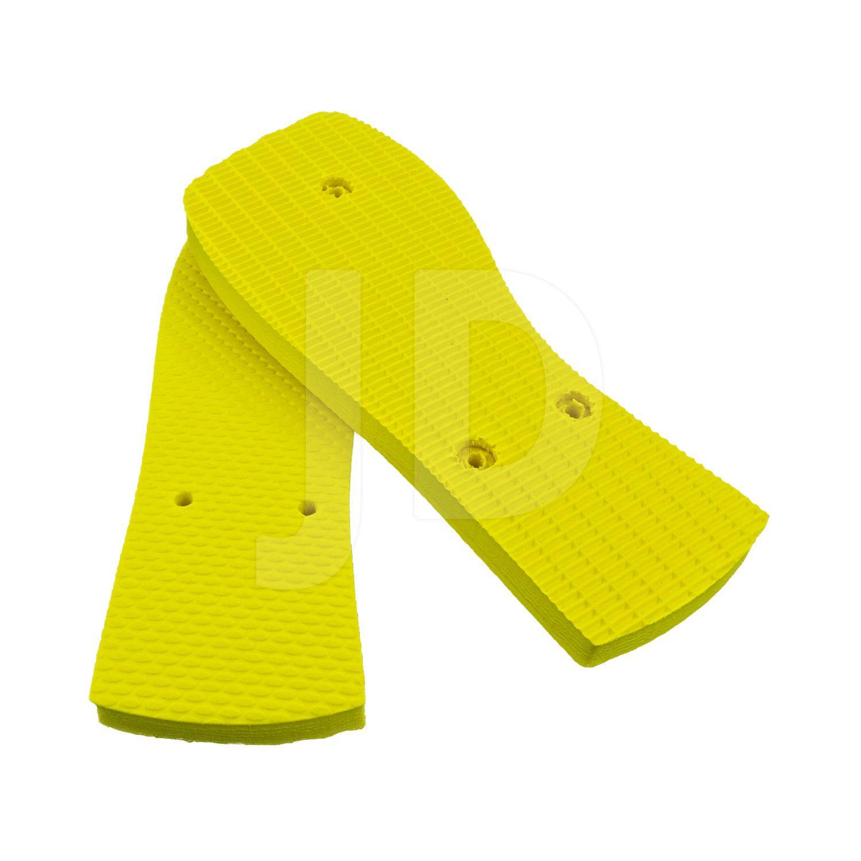 Chinelo Liso - Para Transfer e Silk - Feminino - Adulto - Quadrado - Amarelo