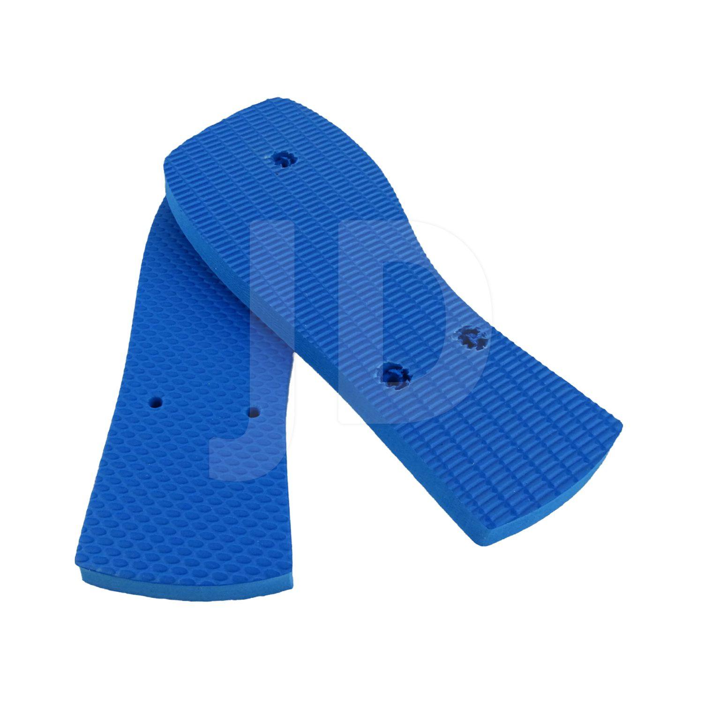 Chinelo Liso - Feminino - Adulto - Quadrado - Azul Royal