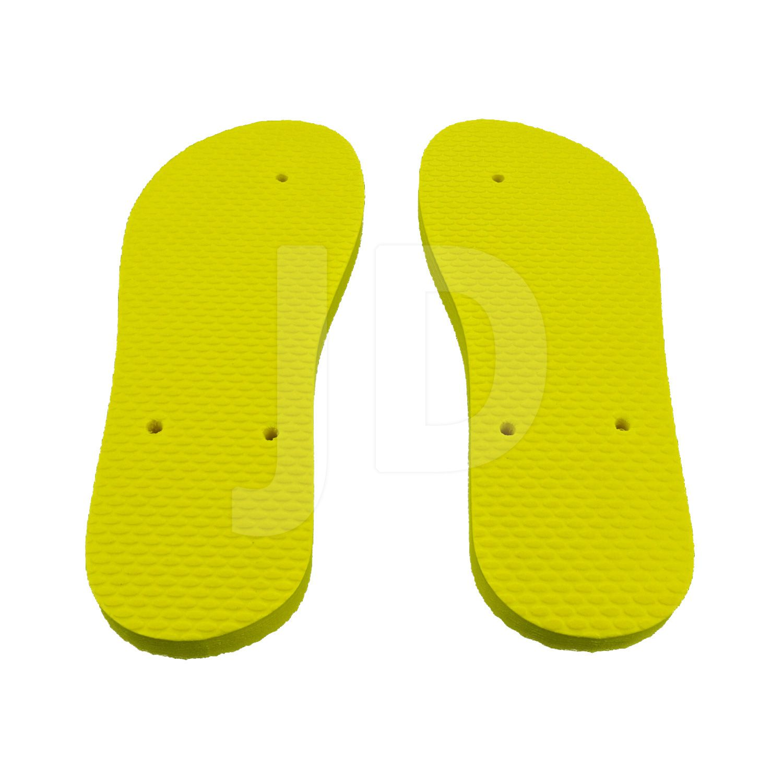 Chinelo Liso - Para Transfer e Silk - Feminino - Adulto - Tradicional - Amarelo