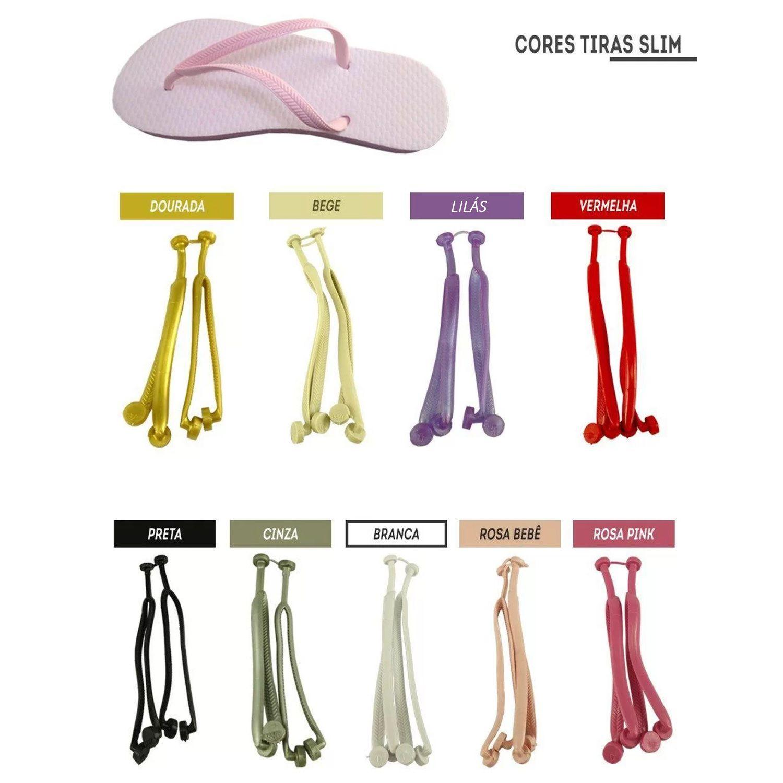 Chinelo Liso - Para Transfer e Silk - Feminino - Adulto - Tradicional - Rosa Pink