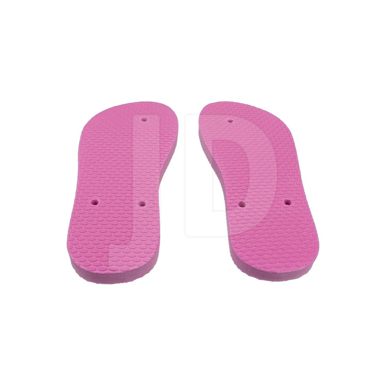 Chinelo Liso - Para Transfer e Silk - Feminino - Infantil - Tradicional - Rosa Pink