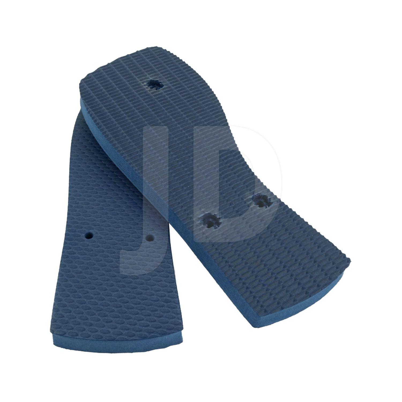 Chinelo Liso - Masculino - Adulto - Quadrado - Azul Marinho