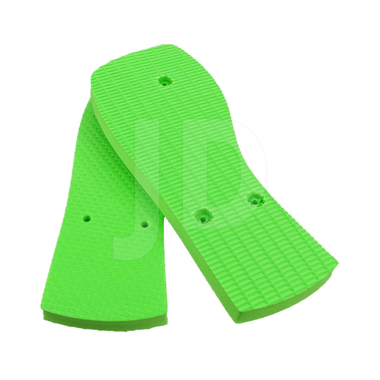 Chinelo Liso - Para Transfer e Silk - Masculino - Adulto - Quadrado - Verde Limão