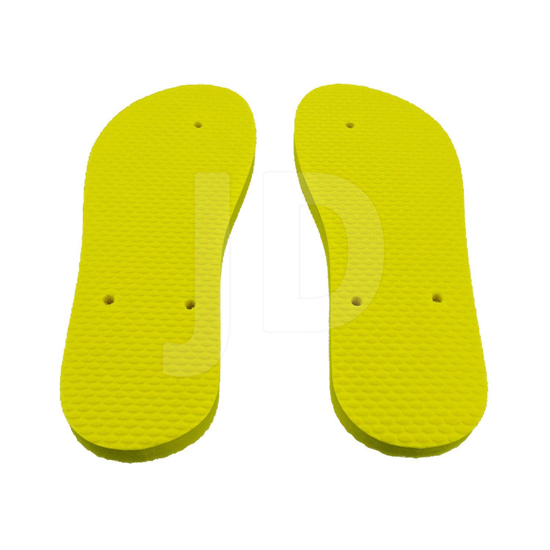Chinelo Liso - Masculino - Adulto - Tradicional - Amarelo